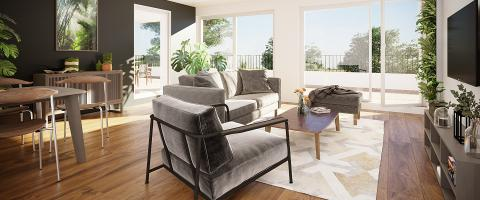 Appartement neuf intérieur Gambsheim 67760 - Evasio