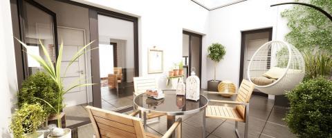 Programme immobilier neuf Illkirch-Graffenstaden - Patio Néris