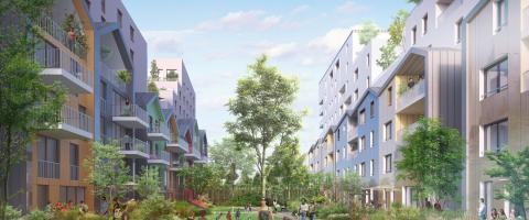Programme immobilier neuf Vivacity coulée verte - Strasbourg