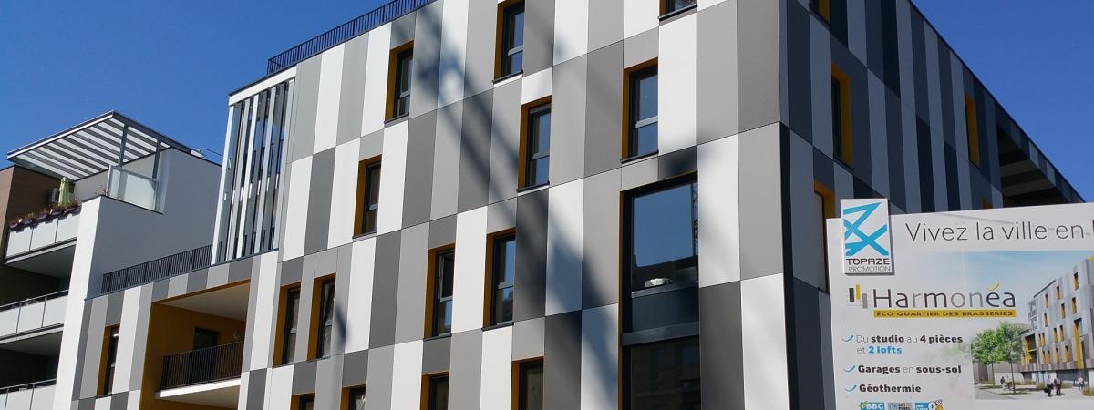 Programme immobilier neuf Harmonéa - Strasbourg-Cronenbourg