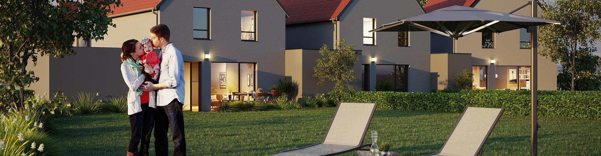 Programme immobilier neuf Aspach-le-haut 68700 - Les Clématines
