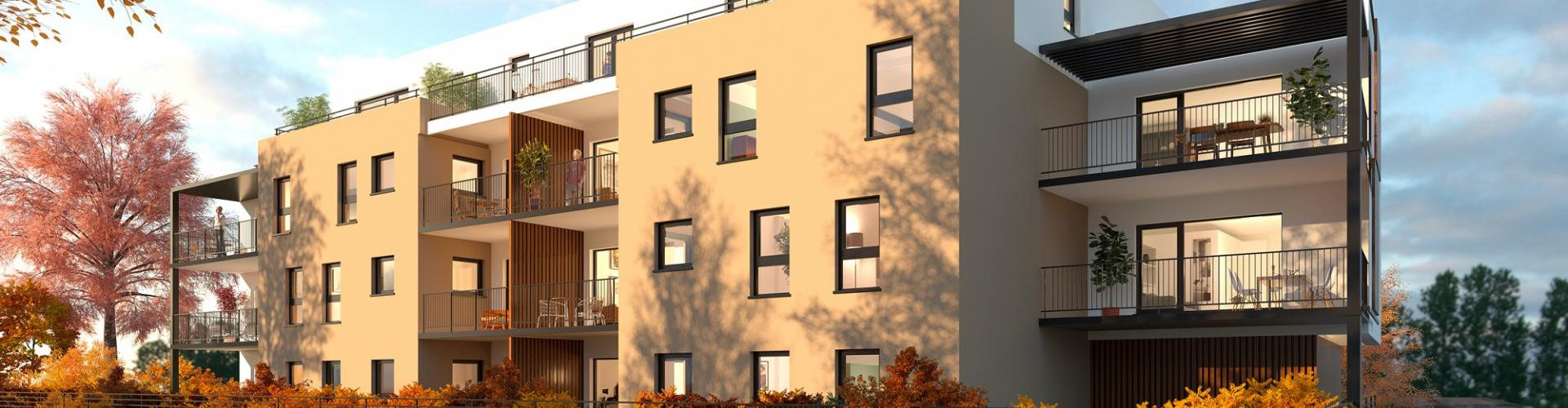 Programme immobilier neuf Strasbourg - Néhome