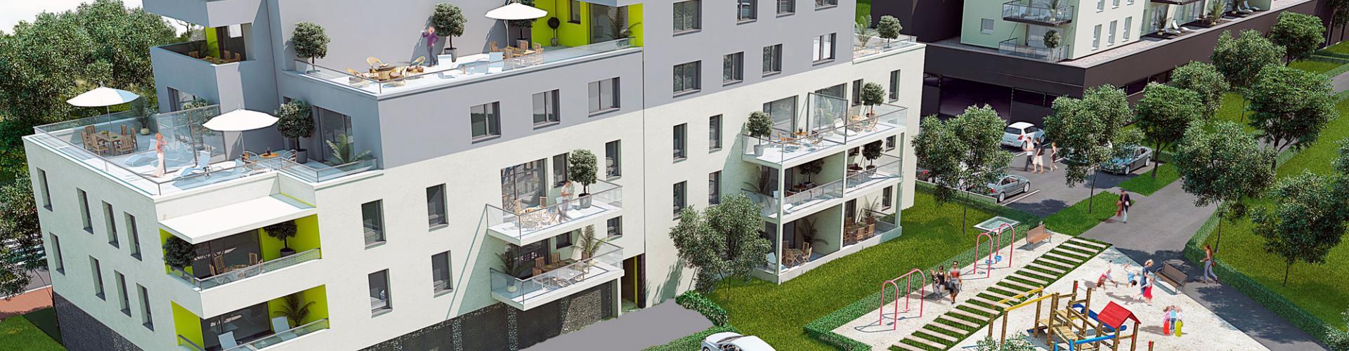 Programme immobilier neuf Pulversheim - Les Roses de Talos