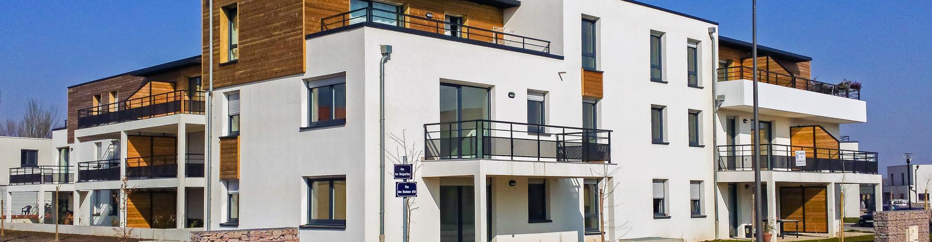 Programme immobilier neuf Les Prés Fleuris - Dambach la ville