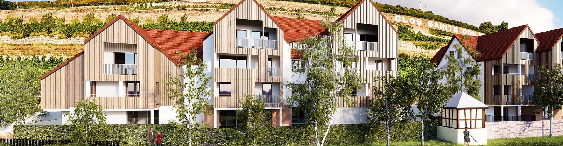 Programme immobilier neuf Obernai - Séduction