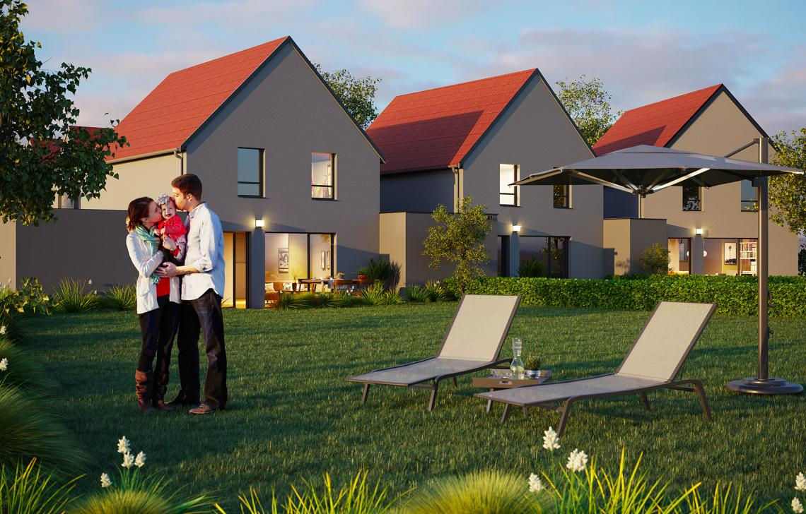 Maisons neuves à Aspach