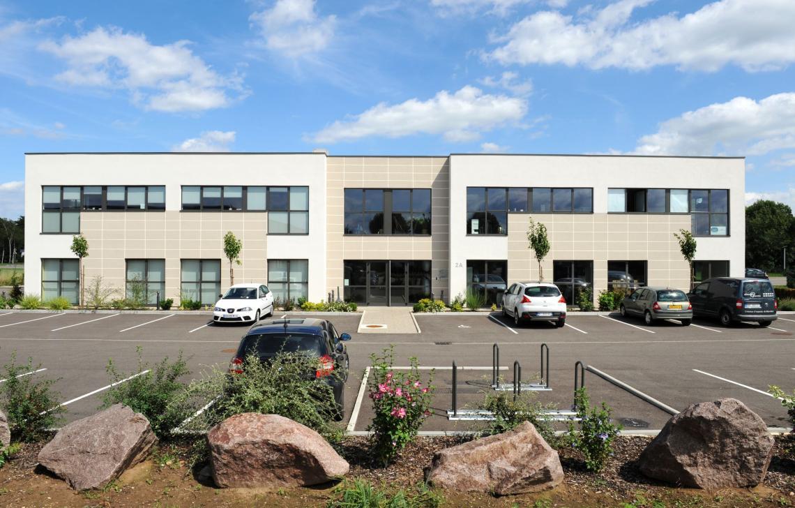 Immeuble de bureau Topaze Promotion - Obernai Géode