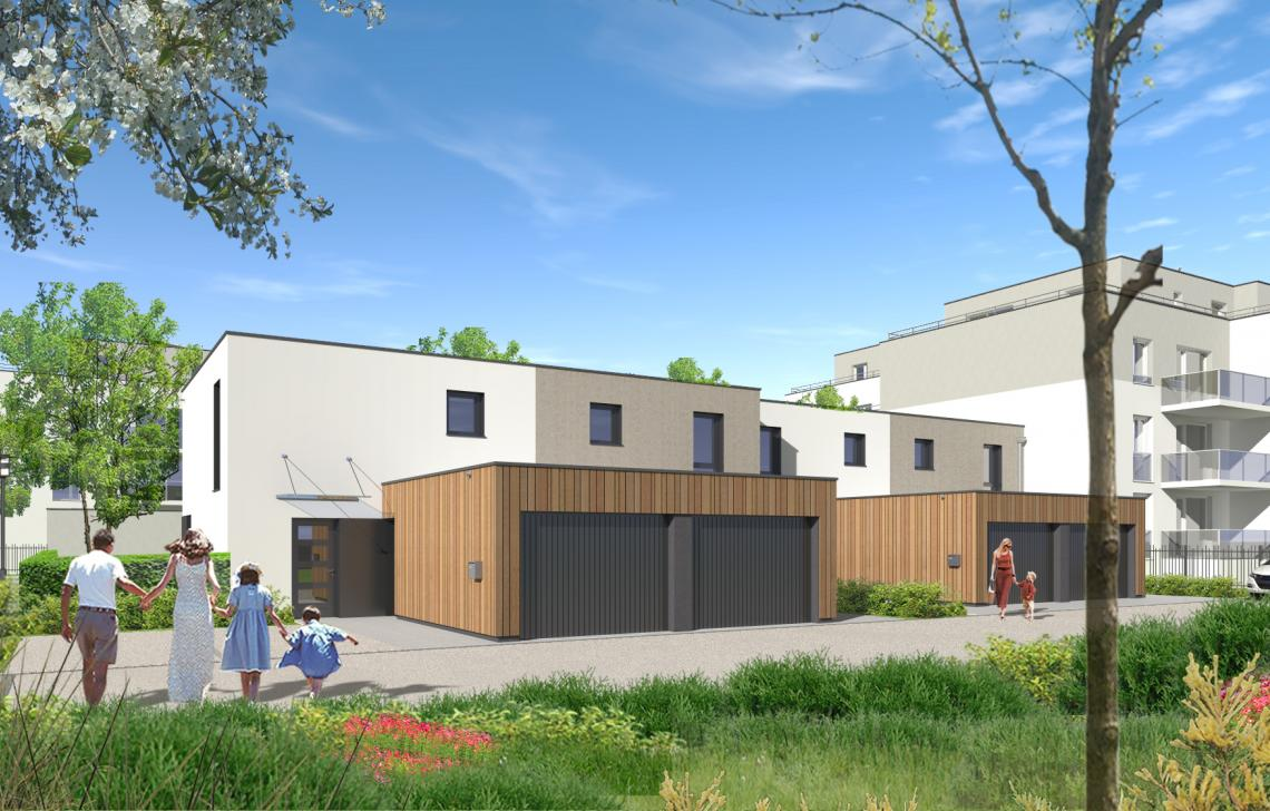 Programme immobilier neuf à Brumath