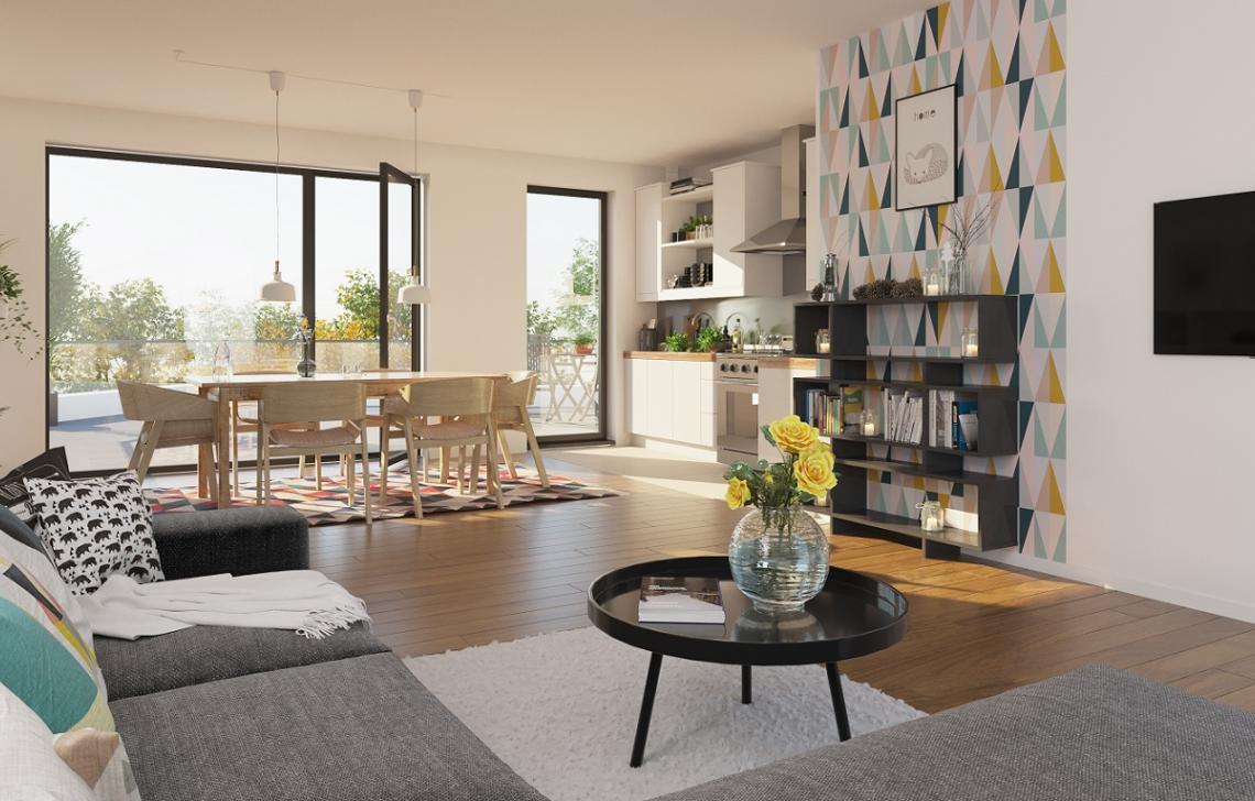 Appartement neuf intérieur Odéa - Duppigheim