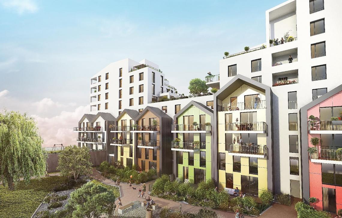 Vivacity strasbourg programme immobilier appartement neuf for Immobilier strasbourg neuf