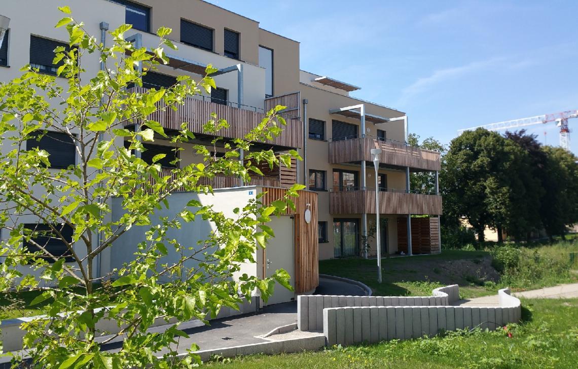 Programme immobilier neuf à Illkirch- Les Akènes