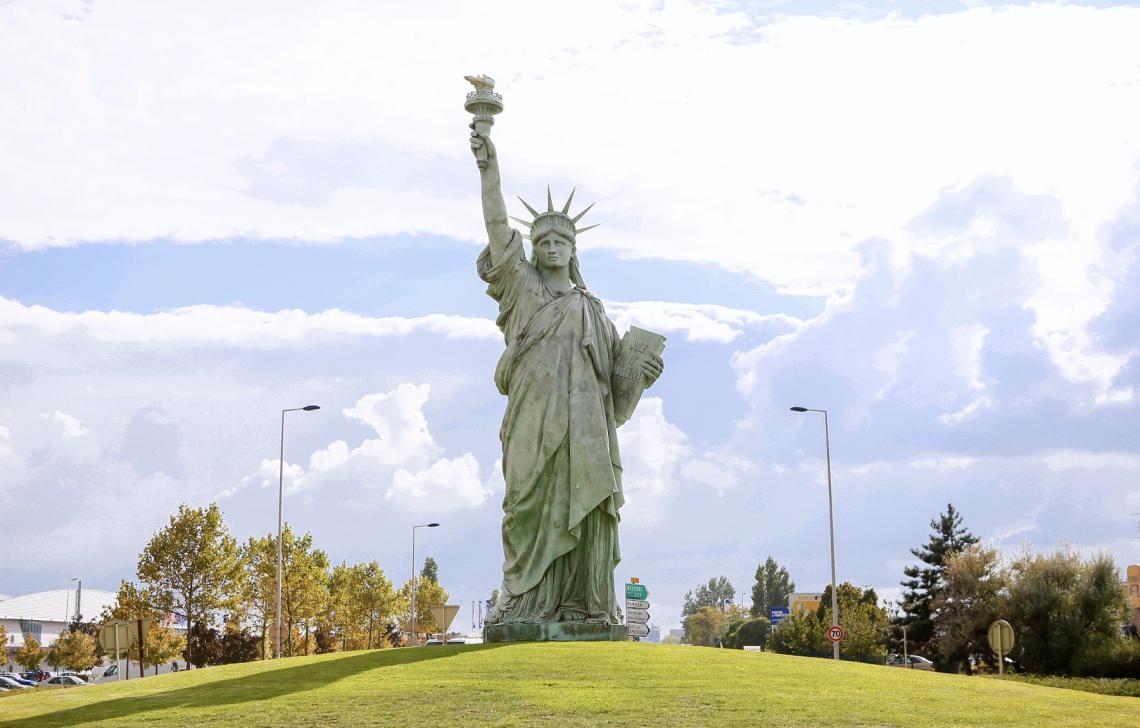 Colmar Statut de la Liberté - Topaze Promotion