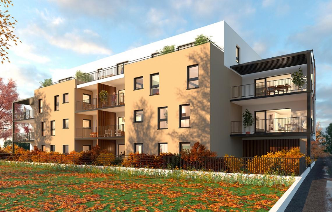 N home strasbourg neuhof programme immobilier for Decoration appartement neuf