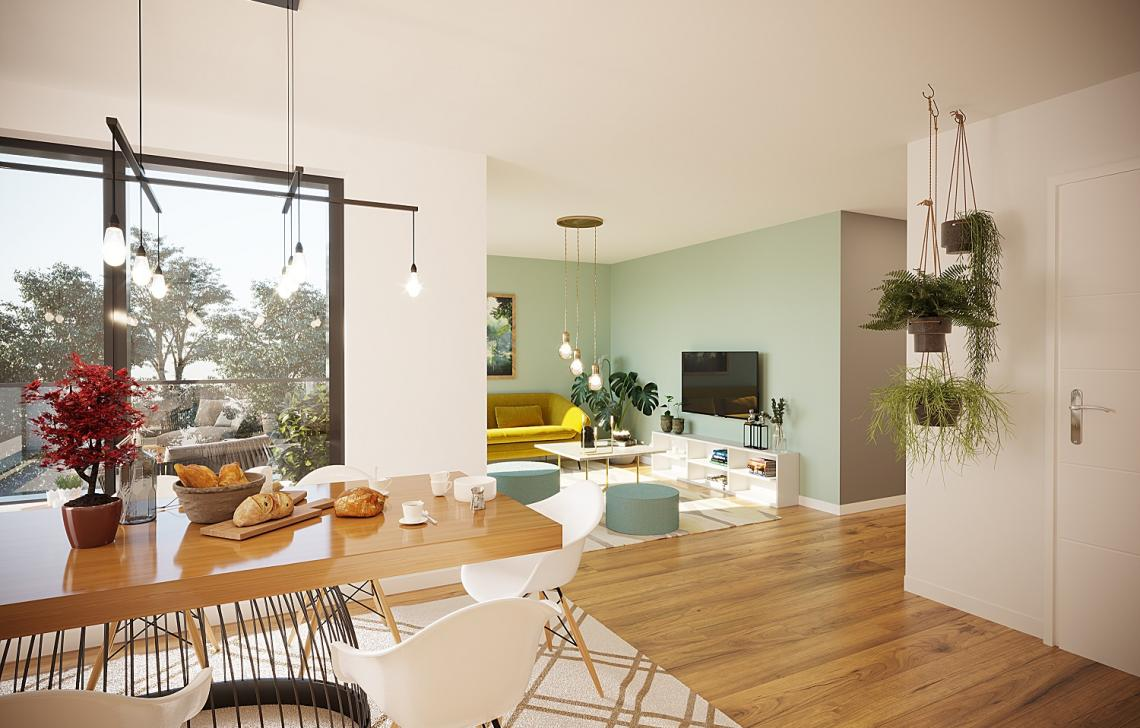 Programme immobilier neuf intérieur de Calliopé
