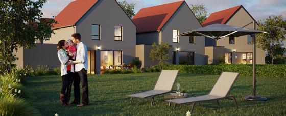 Programme immobilier maison neuve - Les Clématines