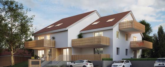 Programme immobilier neuf Azuré - Oberschaeffolsheim