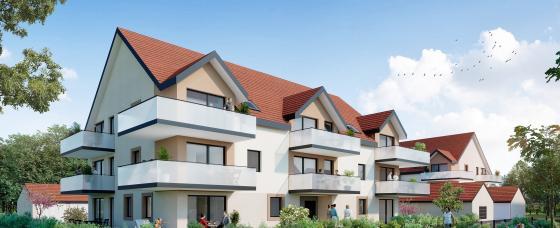 Programme immobilier neuf Krautergersheim - les jardins de lili