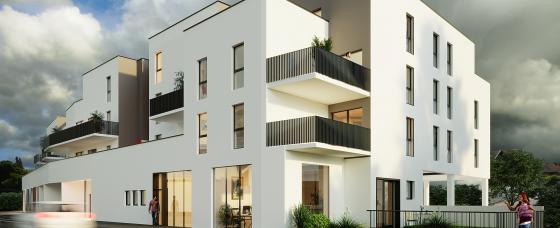 Mix'City  programme immobilier neuf à Illzach.